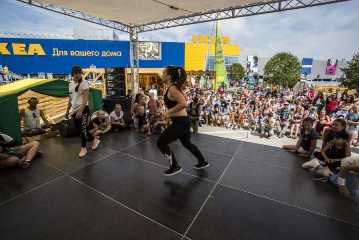 Сегодняшний деньфестиваля посвящен танцевальным выступлениям и баттлам