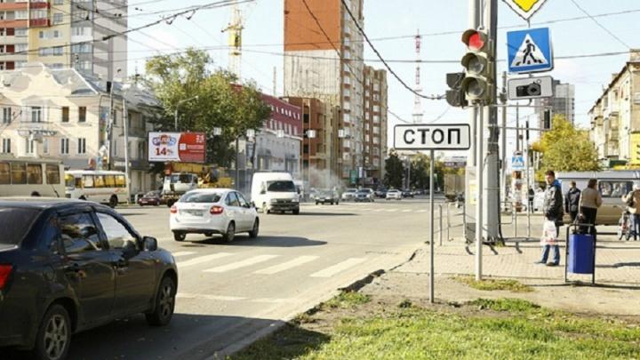 На нескольких улицах Челябинска отключили светофоры