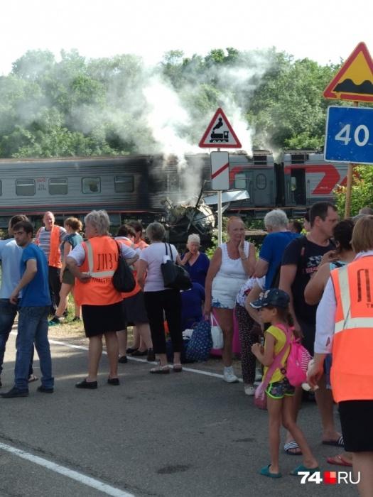 Всех пассажиров эвакуировали
