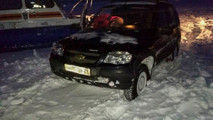 Трое рыбаков на Белом море попали в снежный плен