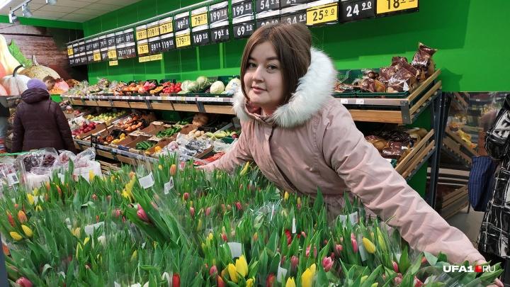 «Тюльпанная лихорадка»: как корреспондент UFA1.RU добывал букет накануне 8 Марта