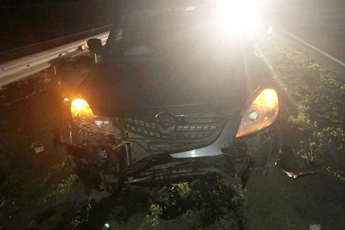 В аварии «китаец» получил серьезные повреждения