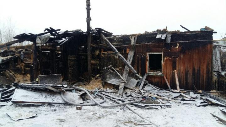 В частном доме, сгоревшем в субботу в Нахаловке, нашли тело 69-летней женщины