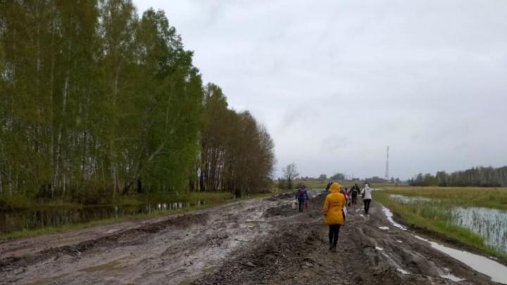 Автобусы перестали ездить до сёл из-за разбитой дороги: прокуратура начала проверку