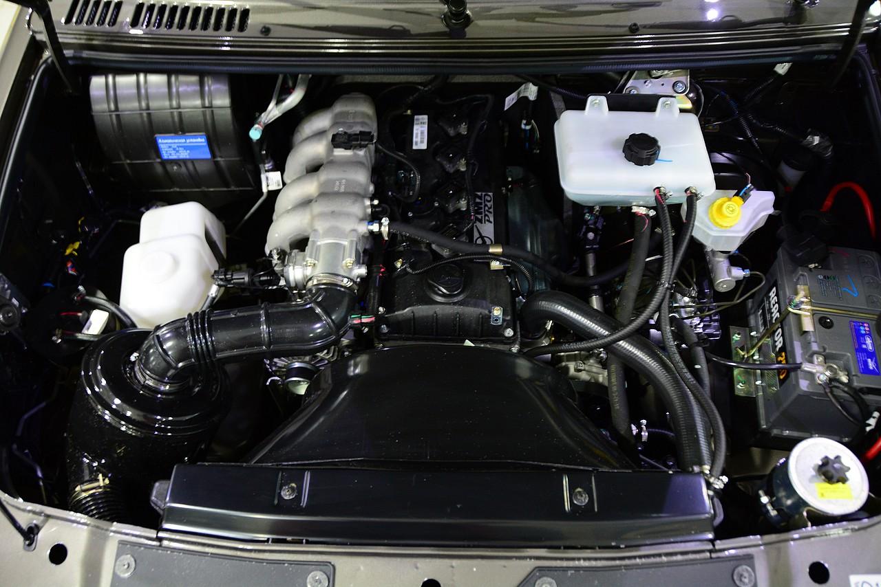 Двигатель ZMZ-Pro — модификация мотора ЗМЗ-409 с увеличенной степенью сжатия и мощностью 150 л. с.