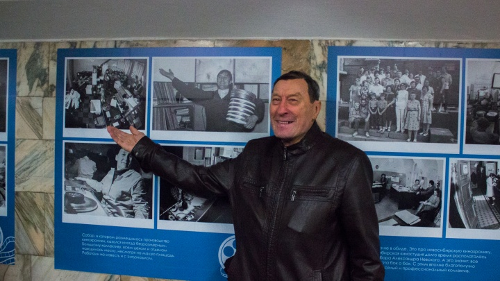 Узнали себя на старых снимках: работники закрытой киностудии увидели свои фотографии в метро