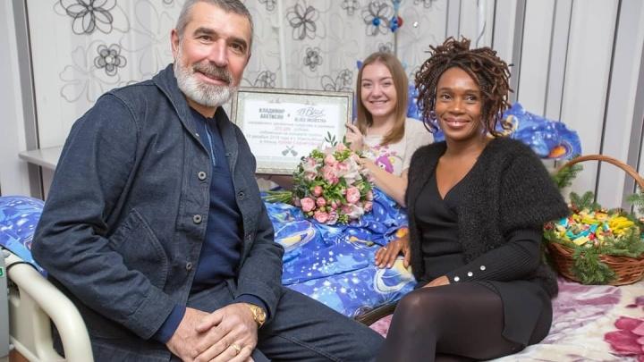 Юле Сабировой, которая выжила после страшной аварии, подарили 270 000 рублей