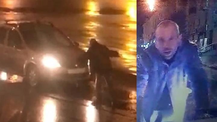Следователи нашли водителя, который в сентябре проехал по голове пьяного пешехода на Баумана
