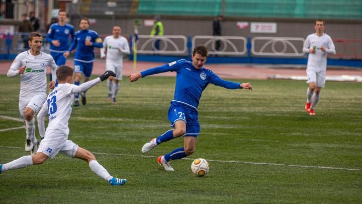 ФК «Новосибирск» выиграл у «Зенита» из Иркутска на Первенстве России