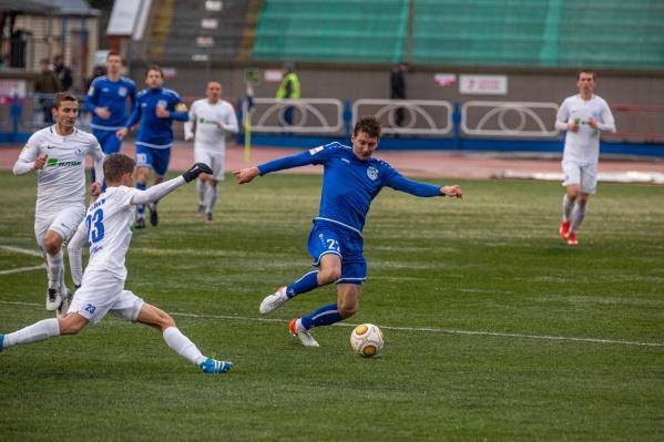 Игра прошла нана новосибирском «Спартаке»