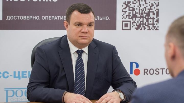 Администрацию Ростова покинул замглавы по кадровым вопросам Дмитрий Мамелко