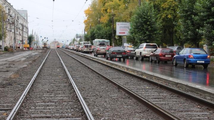 Движение транспорта на улице Уральской в Перми полностью восстановят к 15 октября