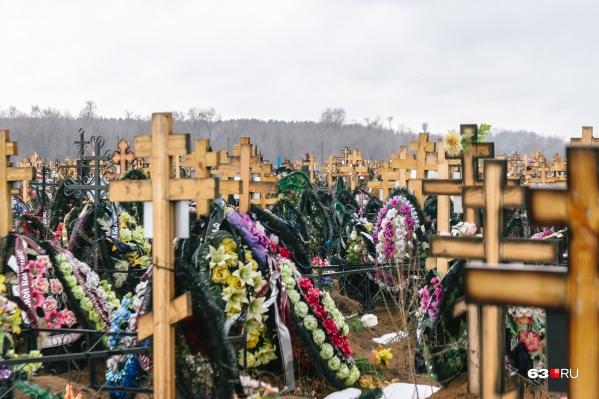 По оценкам властей, сейчас дефицита мест для захоронений нет, но он может наступить через 5 лет