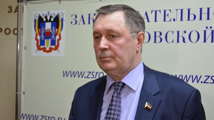 В Шахтах установили памятную доску почетному шахтеру, профессору Владимиру Катальникову