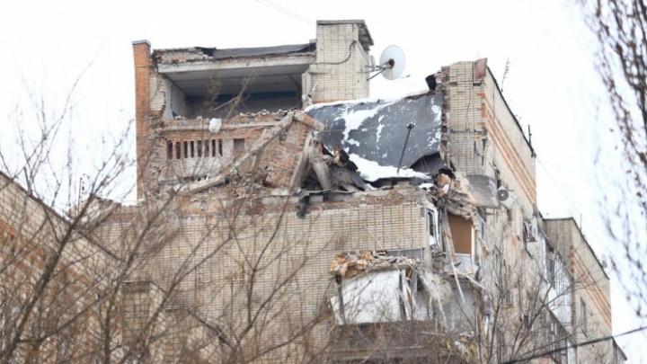 К восстановлению обрушившегося в Шахтах дома могут приступить в апреле