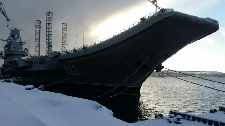 Появилась версия, почему загорелся крейсер «Адмирал Кузнецов»