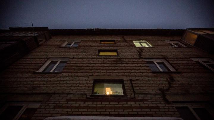 Из-за аварии 50 домов в Октябрьском районе остались без света