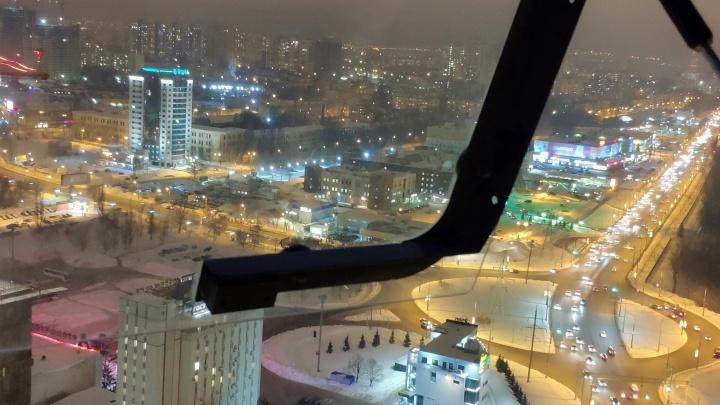 Город с кольцом: публикуем 10 фото Самары с высоты... башенного крана
