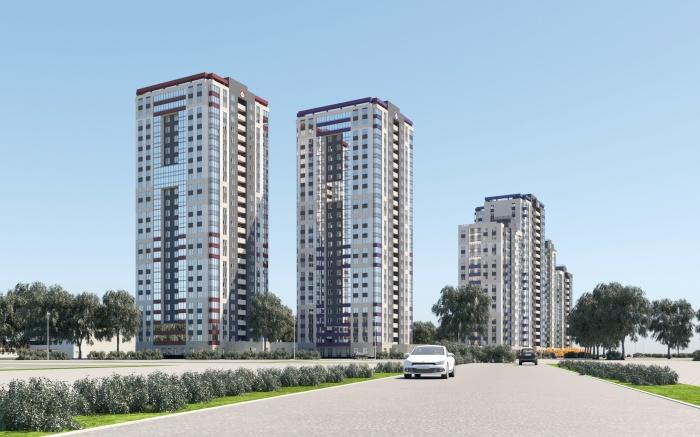 Жилой квартал «Новая Ботаника» строится на улице Крестинского, проект рассчитан на 5 лет, но застройщик планирует завершить его за 3 года