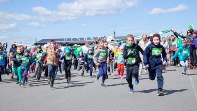 Бег со смыслом: вместе со страной северяне поучаствовали в «Зеленом марафоне»