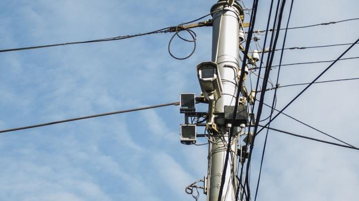 За вами следят: на Красном проспекте начали работать новые камеры для фиксации нарушений