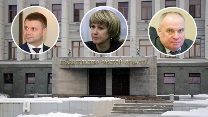 В Омске назначили четверых новых вице-губернаторов: рассказываем, кто они такие