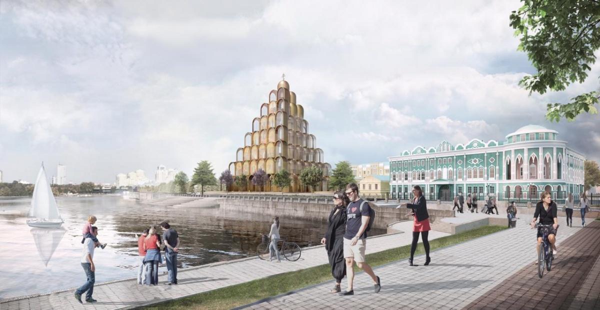 Храм могут поставить в самом центре города