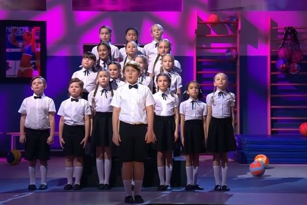 Хор девчонок и мальчишек спел свою версию песни екатеринбургской певицы