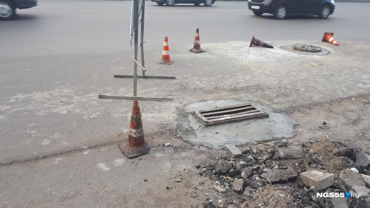 Подрядчик сорвал сроки ремонта улицы 10 лет Октября