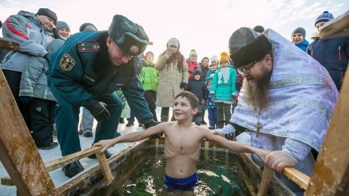 Крещенский заплыв: день смелости