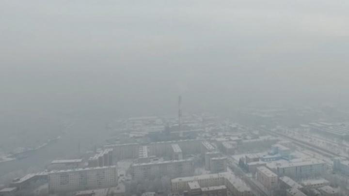 Из-за отсутствия ветра над городом на два дня задержится удушливый смог