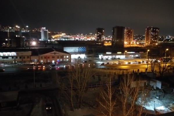 Жители жалуются на плохую освещенность дороги