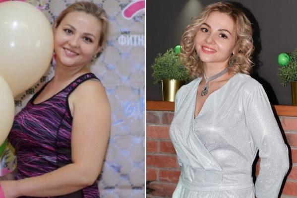 По словам девушки, она начала задумываться о лишнем весе, когда он достиг 74 кг при росте 1,61 м