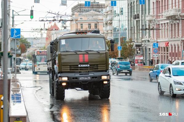 В субботу в Ростове обещают дождь