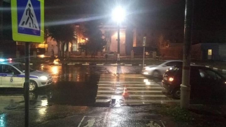 В Новокуйбышевске автомобилистка на «Дэу-Матиз» сбила двух девочек на «зебре»