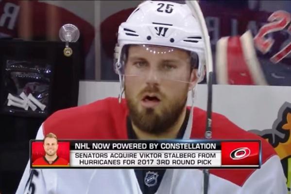 Здесь Виктор Стольберг играет в НХЛ и ещё не знает, что окажется в «Авангарде»