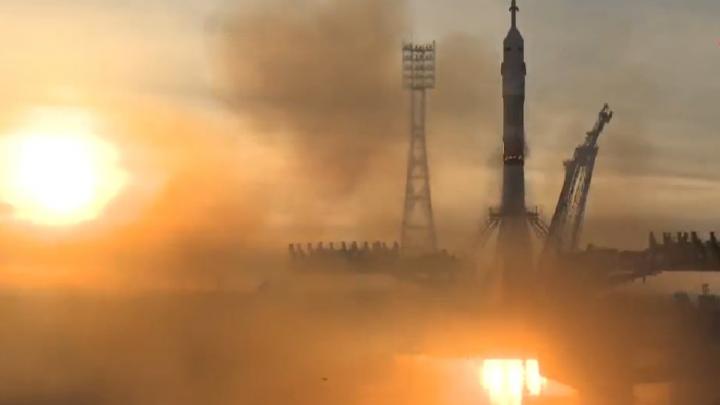 Полетели! Самарская ракета-носитель стартовала с космодрома Байконур
