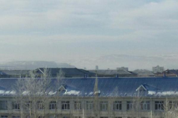 Над городом вновь повисло газовое облако
