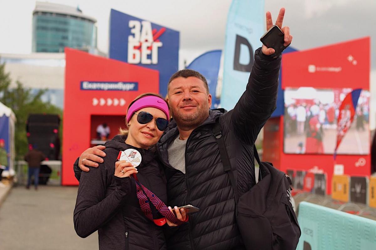 Под дождем и градом: в Екатеринбурге прошел всероссийский полумарафон «ЗаБег»