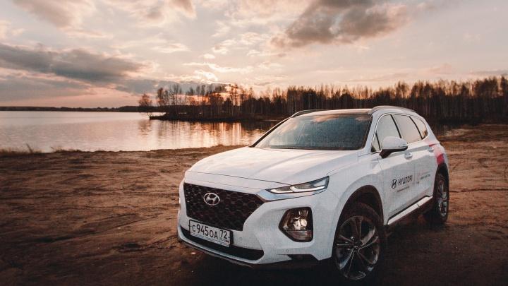 Hyundai SANTA FE: будущее уже сегодня