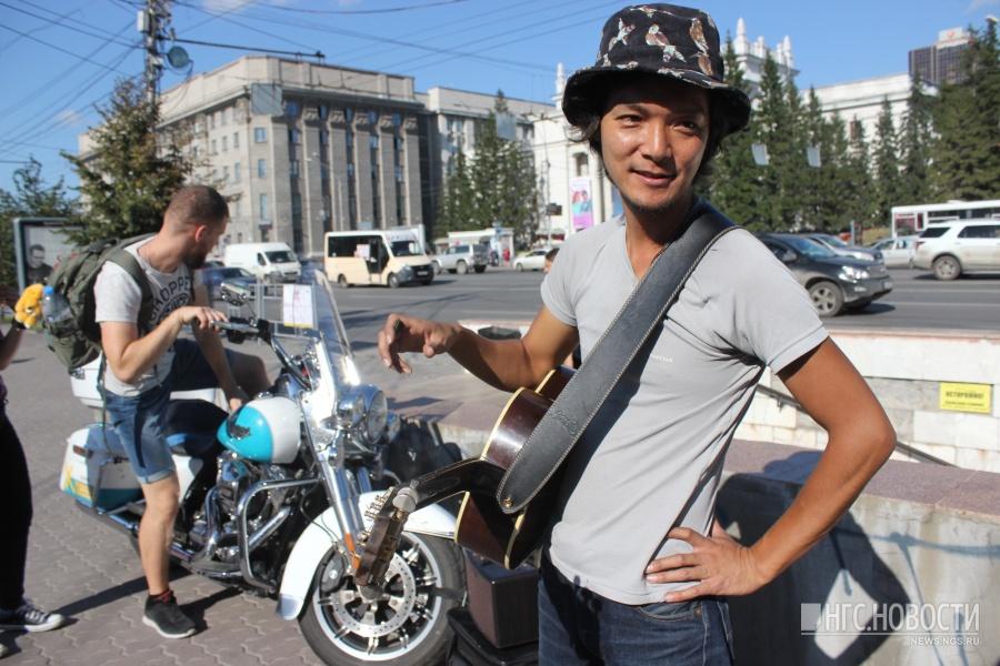 Накадзима Дзюндзи в Новосибирске в августе прошлого года