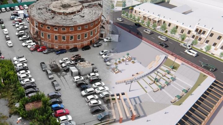 В Тюмени голосуют за новый дизайн улицы Ленина: смотрим, как может измениться центр города