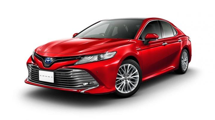 Начались продажи новой Toyota Camry