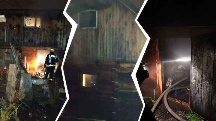 Двое мужчин из Башкирии погибли при пожаре в садовом доме