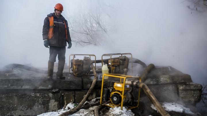 В домах на Затулинке и Северо-Чемском стало холоднее из-за ремонта теплотрассы