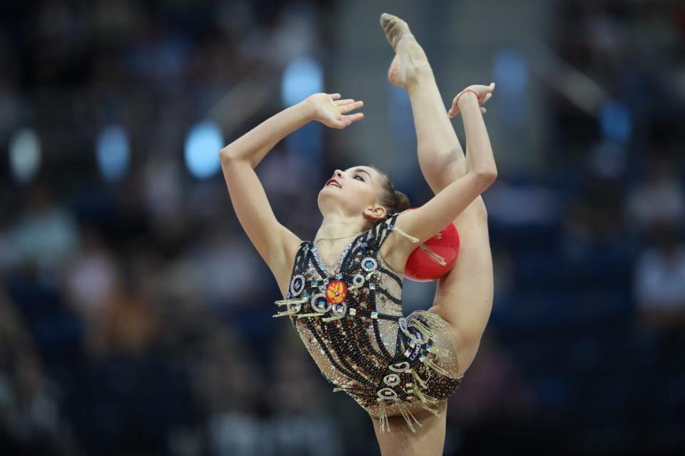Дина Аверина на II Европейских играх