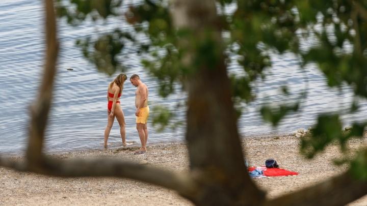В Волгограде половина пляжей оказались непригодными для купания