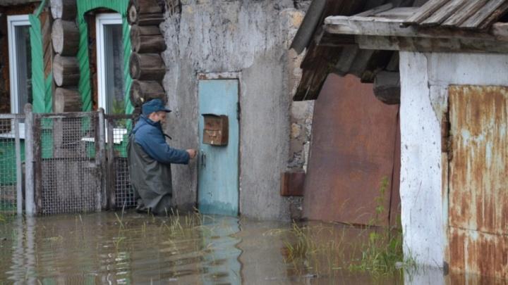 В четырех районах Челябинской области во время паводка будут дежурить спасатели