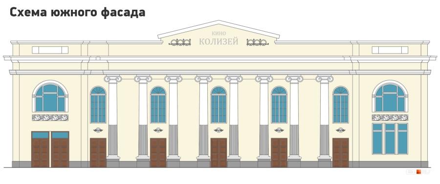 Главный фасад со стороны Ленина