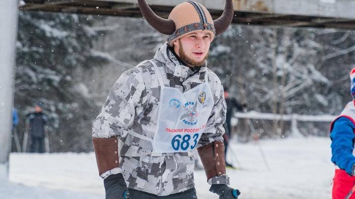 Кигуруми, викинги и губернатор: в Перми прошла «Лыжня России — 2019». Смотрим самые бодрые фото